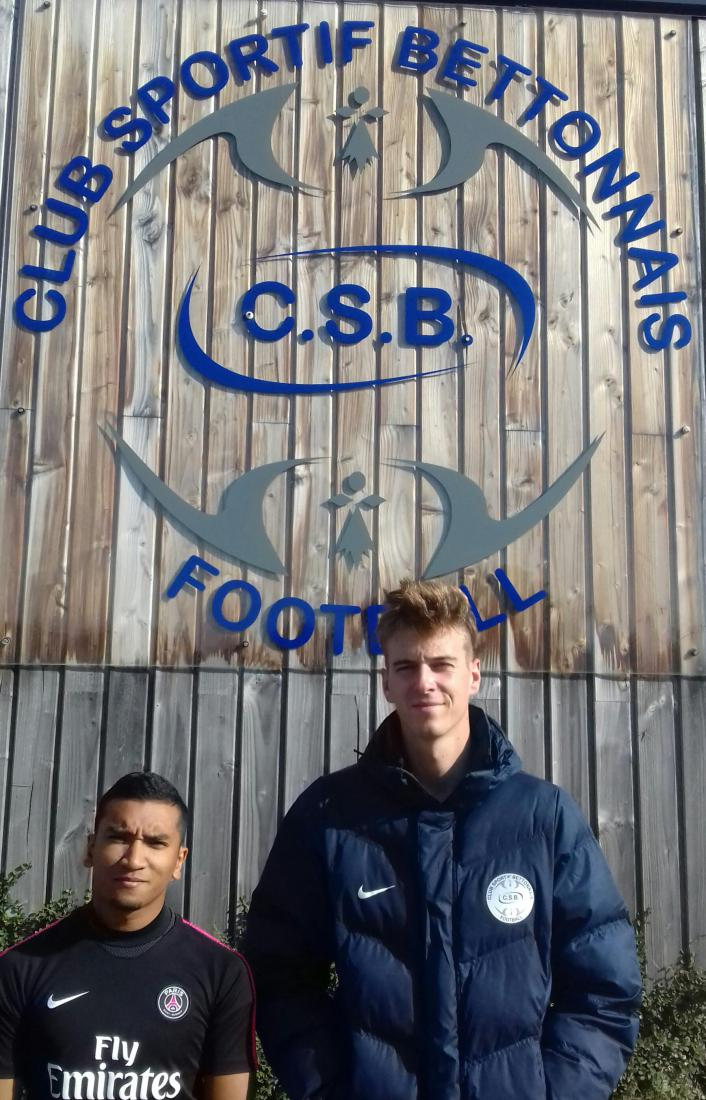 Interview/Portrait de Thibault Robin et de Maxence Léveil - Service civique au C.S. Betton Foot